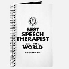 The Best in the World Speech Therapist Journal
