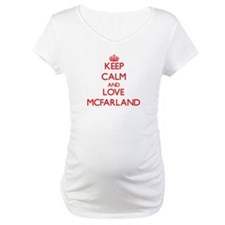 Keep calm and love Mcfarland Shirt