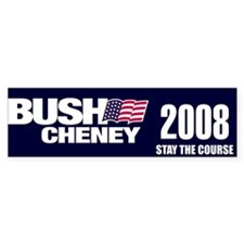 Bush/Cheney 2008 Bumper Bumper Sticker