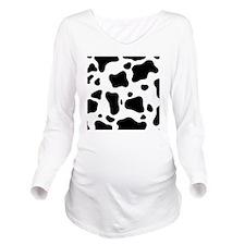 Cow Long Sleeve Maternity T-Shirt