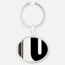 Screw U Oval Keychain