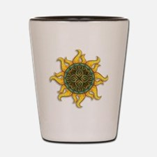 Mosaic Sun Shot Glass