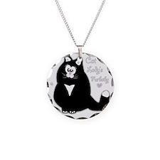 Cat Lady Furbaby (txt) Necklace