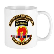 Army - 25th ID w Afghan Svc Mug