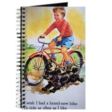 Vintage Bike Boy Journal