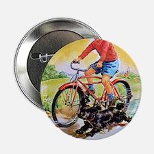 """Vintage Bike Boy 2.25"""" Button"""