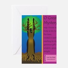 O Great Mystery Greeting Card