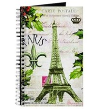 Vintage French Christmas in Paris Journal