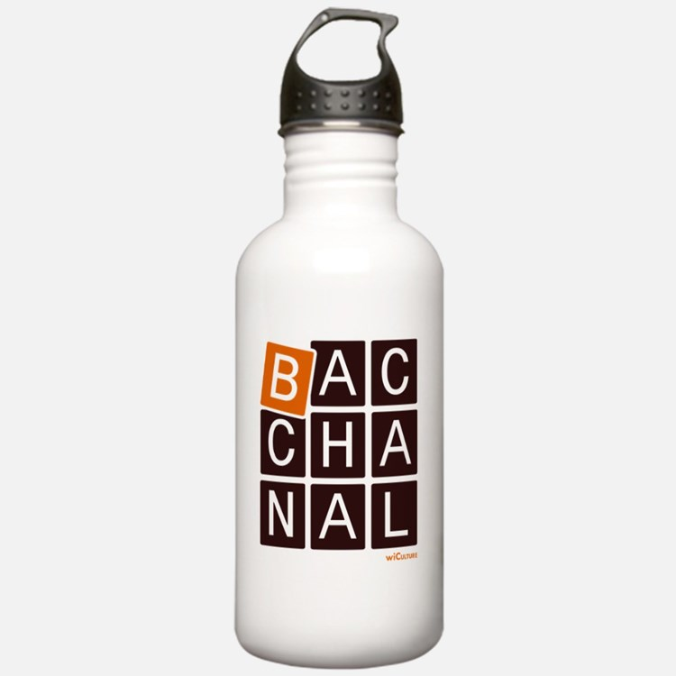 Bacchanal Water Bottle