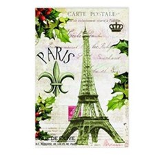 Vintage French Christmas  Postcards (Package of 8)