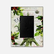 Vintage French Christmas in Paris Picture Frame