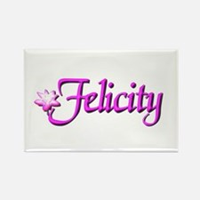 Felicity Lotus Rectangle Magnet