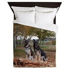 GSD duo Queen Duvet