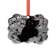 I can haz laptop? Ornament