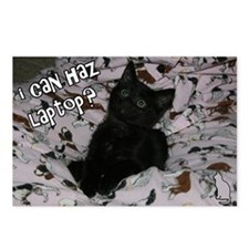 I can haz laptop? Postcards (Package of 8)