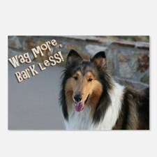 Wag more, Bark Less Postcards (Package of 8)