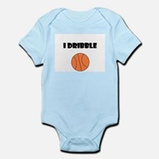 I DRIBBLE Infant Bodysuit