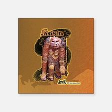 "Legends of Belize Sisimita  Square Sticker 3"" x 3"""