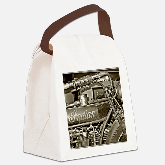 The Indian Canvas Lunch Bag