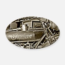 The Indian Oval Car Magnet