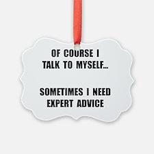 Expert Advice Ornament