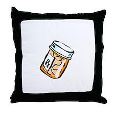 Shake Meds Throw Pillow