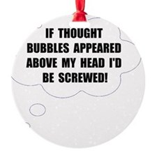 Thought Bubble Ornament