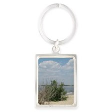 Life's A Beach at the Jersey Sho Portrait Keychain