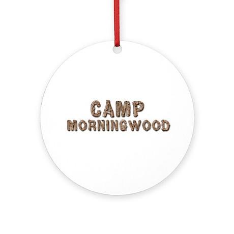 CAMP MORNINGWOOD Ornament (Round)