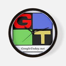 GoogleToday Logo Wall Clock
