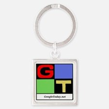 GoogleToday Logo Square Keychain