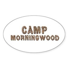 CAMP MORNINGWOOD Oval Decal
