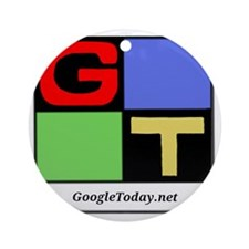 GoogleToday Logo Round Ornament