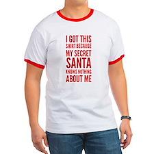 Secret Santa Shirt T-Shirt