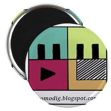 MoMoDig Logo (lines) Magnet