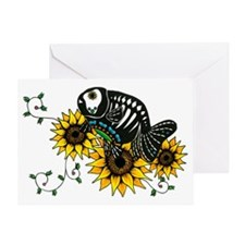 muertosRanchuTshirt Greeting Card