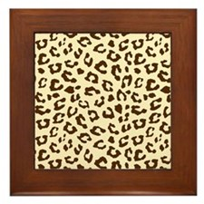 Leopard Framed Tile