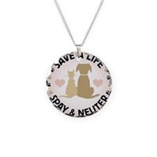 Save A Life Spay & Neuter Necklace