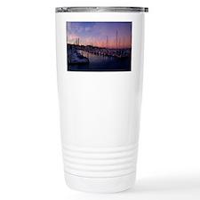 Santa Cruz Harbor Travel Mug