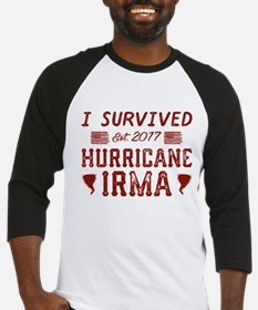 I Survived Hurricane Irma Baseball Jersey