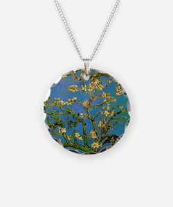Blossoming Almond Tree by Vi Necklace