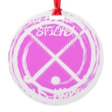 Chicks With Sticks - Field Hockey Ornament