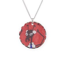 Manager Ant Badge Necklace
