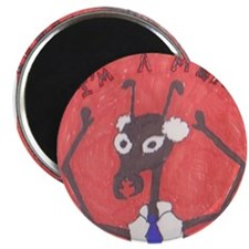 Manager Ant Badge Magnet