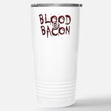 Blood and Bacon Logo #1 Travel Mug