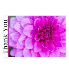 Thank You With Purple Dah Postcards (Package of 8)