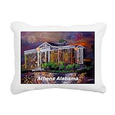 Athens Alabama Courthous Rectangular Canvas Pillow
