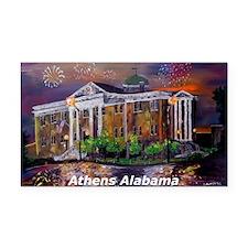 Athens Alabama Courthouse Rectangle Car Magnet