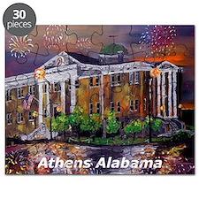 Athens Alabama Courthouse Puzzle