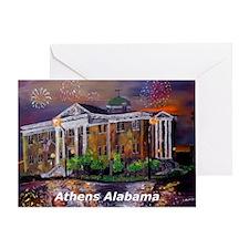 Athens Alabama Courthouse Greeting Card